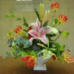 (花)グロリオーサ、ゆり、トルコききょう、アルストロメリア(葉物)ゴットセファナ、ユーカリ