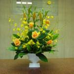 (花)すかしゆり、オンシジューム、バラ(葉物)ドラセラ