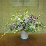 (花)デンファレ、アストランティア(葉物)ユーカリ