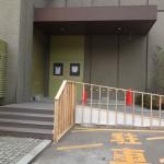 階段やスロープには、滑らないように塩化ビニールのマット敷いてあります。