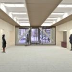 農協会館1階エントランスホールの完成予想図です。
